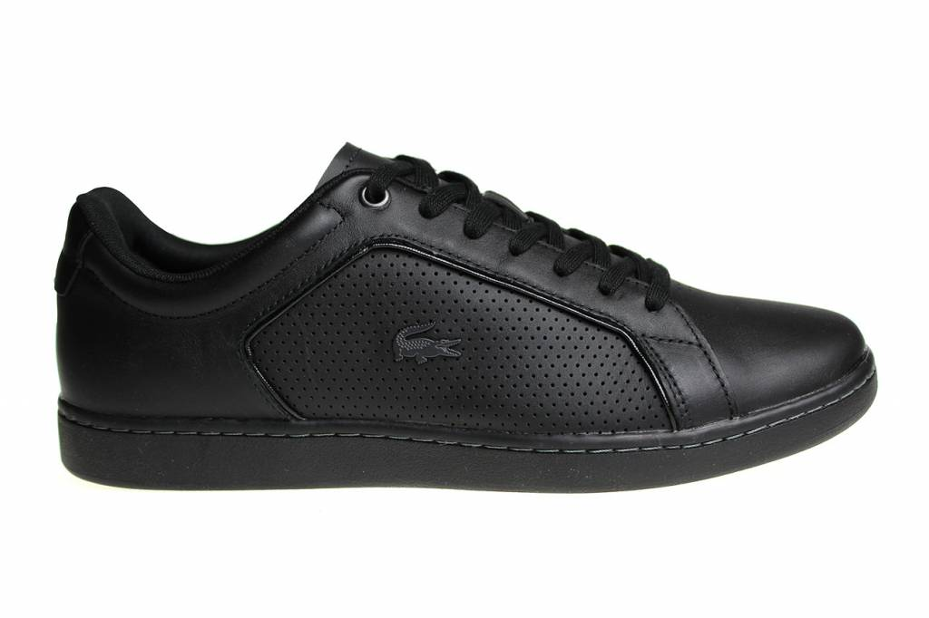 Lacoste Lacoste Chaussures De Sport Noir Carnaby Evo Hommes 1T8F7G