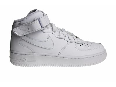Nike Air Force 1 Mid (GS) All White 314195 113 Kids Sneakers