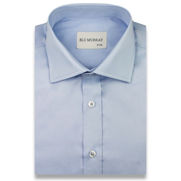The Ice Blue Royal Poplin