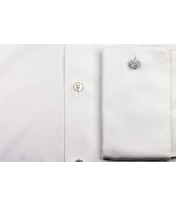 The White Fine Poplin French Cuff