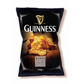 """BURTS Guinness Chips """"GUINNESS FLAVOUR"""" 150g"""