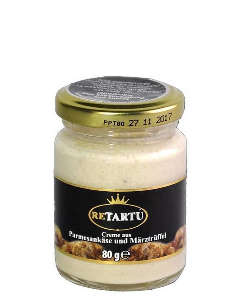ReTartú Creme aus Parmesankäse und Märztrüffel 80g