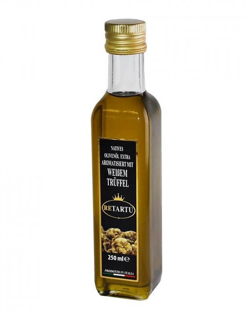 ReTartú Natives Olivenöl extra aromatisiert mit weißem Trüffel 250ml.