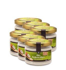 bff borchers 6 x borchers Bio Kokos-Mus 200g naturbelassen