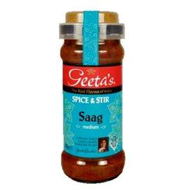 "Geeta´s Geeta´s Saag ""medium"" Spice & Stir 350g"