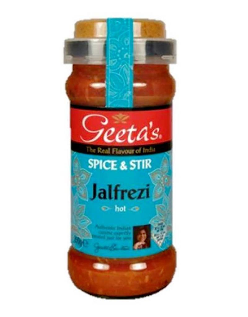 "Geeta´s Geeta´s Jalfrezi ""hot"" Spice & Stir 350g"
