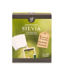 bff borchers bff Stevia Süßstofftabletten 3 x 120 st. Nachfüllpack
