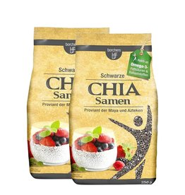 bff borchers borchers Schwarze Chia Samen 500 g (2 x 250 g)