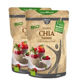 bff borchers bff Bio Chia Samen 1000 g (2 x 500 g)