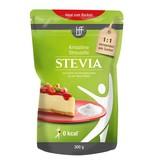 bff borchers Stevia Probierpaket: 2x Kristalline Streusüße 300g, 1x Flüssigtafelsüße 125ml, 1x Süßstofftabletten