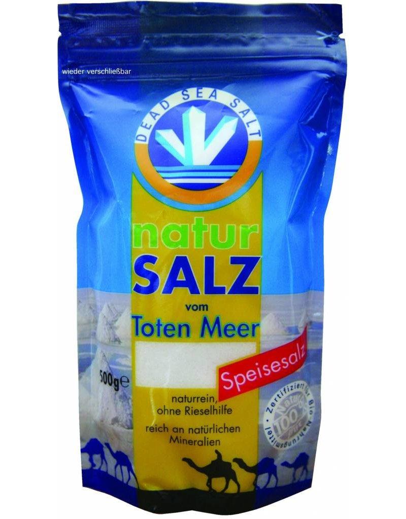 TMO Totes Meer Natur Speisesalz, 8er Pack (8 x 500 g Beutel)
