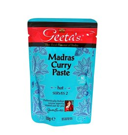 "Geeta´s Geeta´s Madras ""hot"" Curry Paste 80g"
