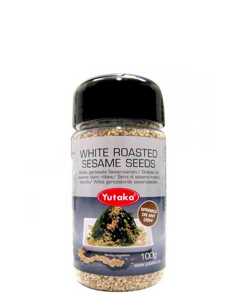 Yutaka Yutaka White Roasted Sesame Seeds 100g
