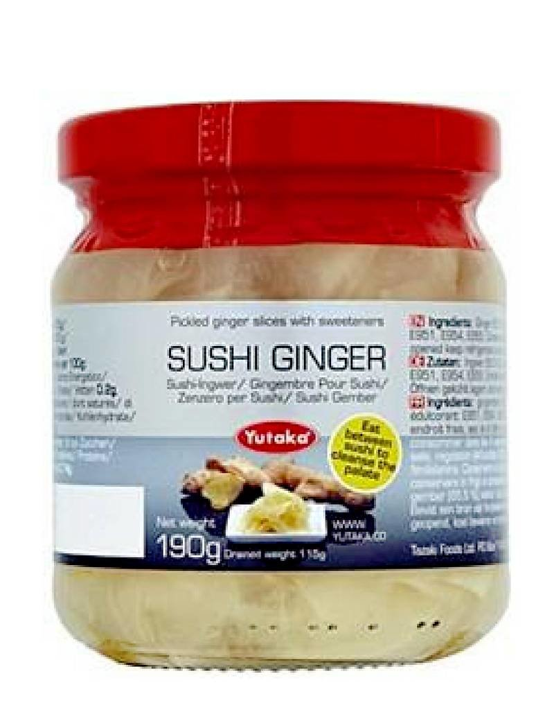 Yutaka Yutaka Sushi Ginger 190g