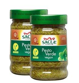 Sacla 2x Saclá Pesto Verde Vegan 380g (2x190g)