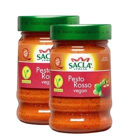 Sacla 2x Saclá Pesto Rosso Vegan 380g (2x190g)