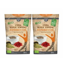 bff borchers 2 x borchers Bio Chia Super Topping Kürbiskern Goji 200g
