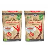 bff borchers 2 x borchers Bio Chia Super Topping Quinoa-Erdbeere 200g