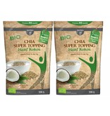 bff borchers 2 x borchers Bio Chia Super Topping Hanf-Kokos 200g