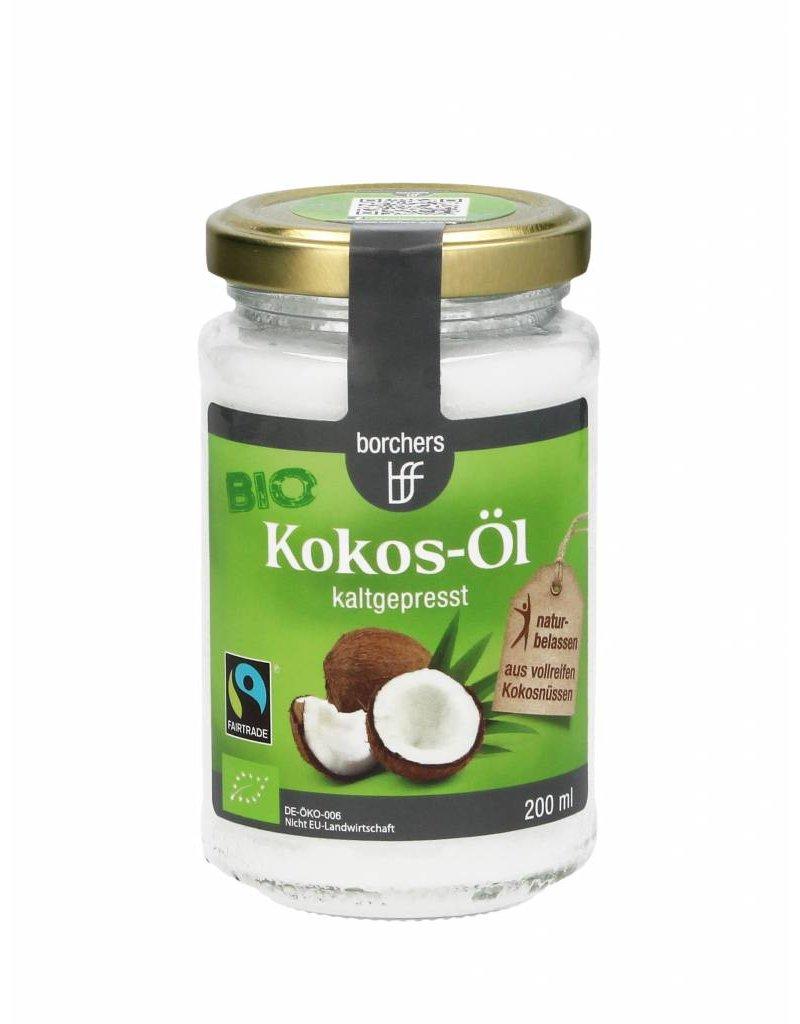 bff borchers 6 x borchers Bio Fairtrade-Kokosöl 200ml. kaltgepresst