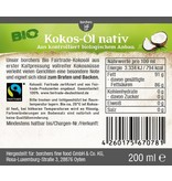 bff borchers 2 x borchers Bio Fairtrade-Kokos-Öl 200 ml. kaltgepresst