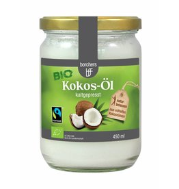 bff borchers borchers Bio Fairtrade-Kokos-Öl 450 ml. kaltgepresst