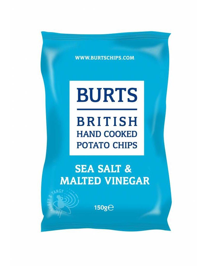 """BURTS BURTS Chips """"SEA SALT & MALTED VINEGAR"""" 150g"""