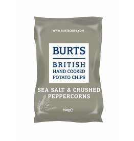 "BURTS BURTS Chips ""SEA SALT & CRASHED PEPPER"" 150g"
