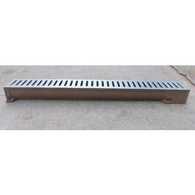 Polymerbetonrinnen für Garten, Terrasse oder Einfahrt