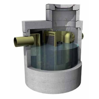 Concrete separator or coalescentieafscheider with CE certification