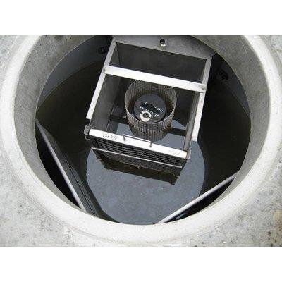 Betonnen olieafscheider of coalescentieafscheider met zandvanger slibvanger en CE keur