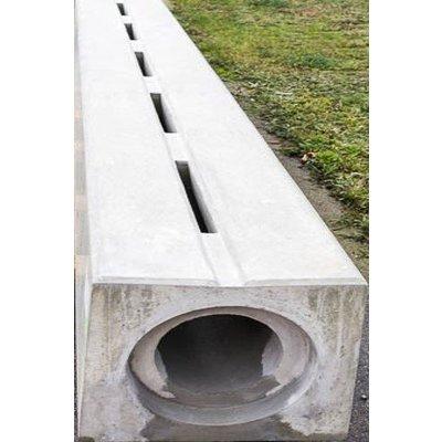 Verholen goten van beton