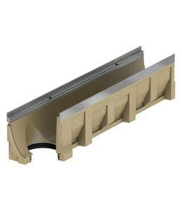 ACO Aco drain channel Multiline V150S stainless steel type 0.0.2, l = 1m, under drain