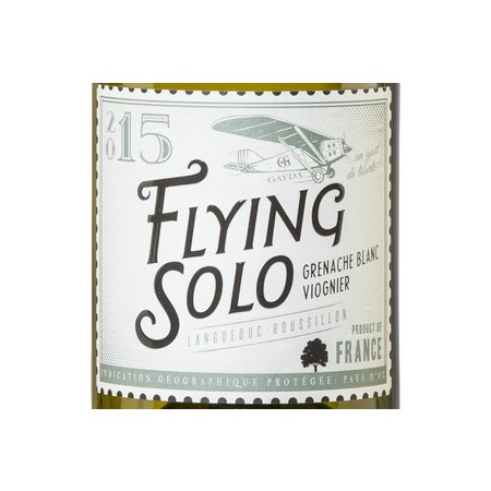 Domaine Gayda Flying Solo Blanc 2017