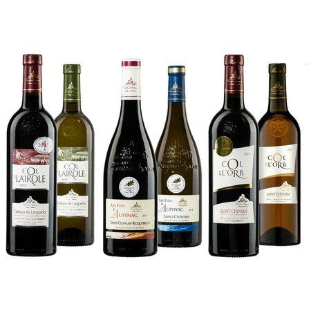 """Proefdoos """"Golden Wines"""" Rouge"""