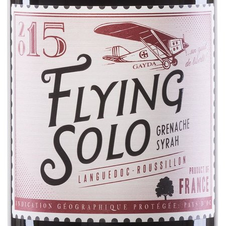 Domaine Gayda Flying Solo Rouge 2017