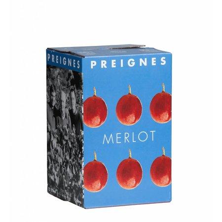 Domaine Preignes Le Vieux Merlot Rouge 5 liter