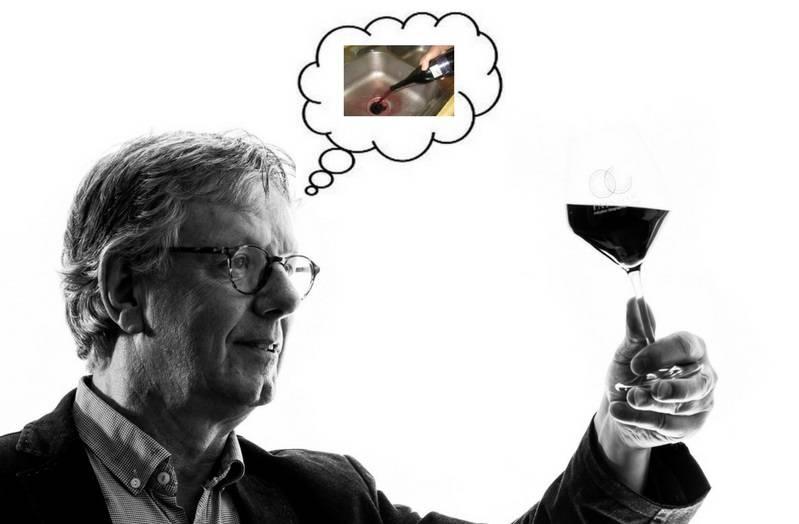 Nooit meer restjes wijn door de gootsteen