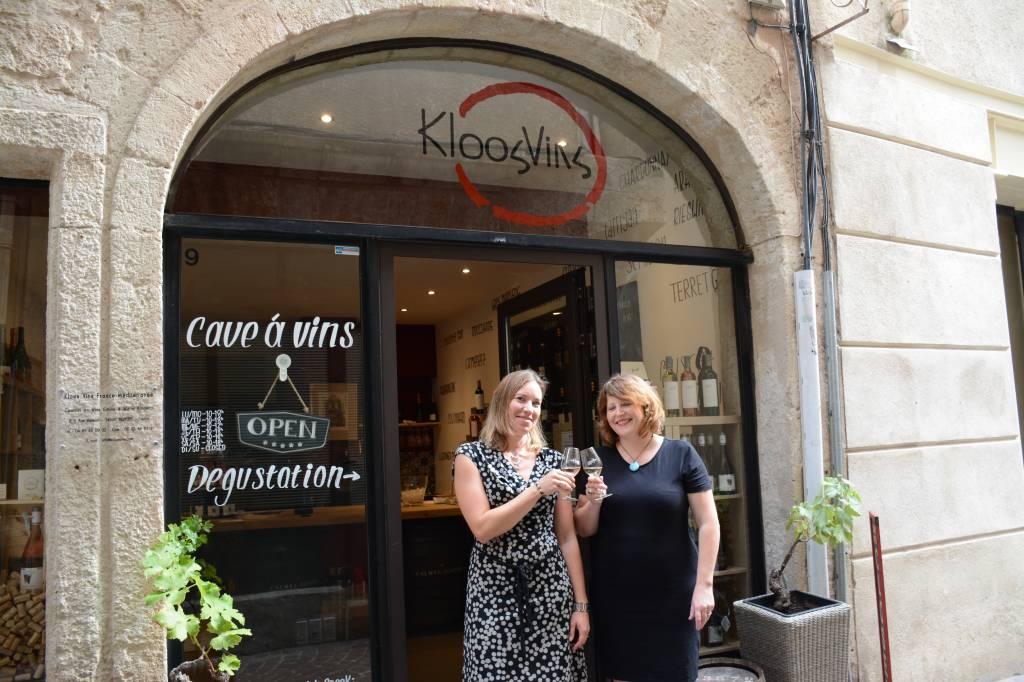 KloosVins wijnwinkel in Béziers