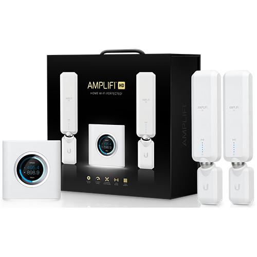 Ubiquiti AmpliFi HD WiFi Router + 2 Mesh Points