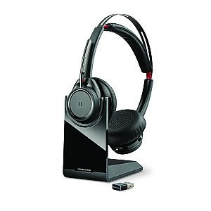 Plantronics Voyager Focus UC B825 M incl. lader met USB-adapter