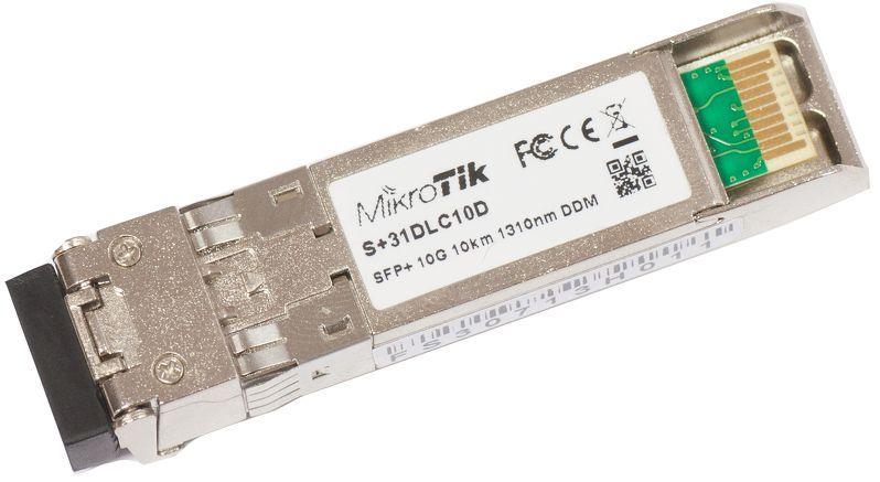 MikroTik SFP+ module S+31DLC10D, SM, 10km, 10G