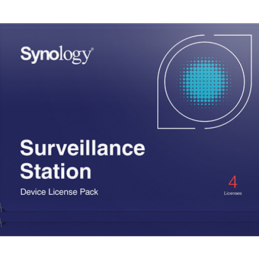 Synology Camera licentie 4 devices