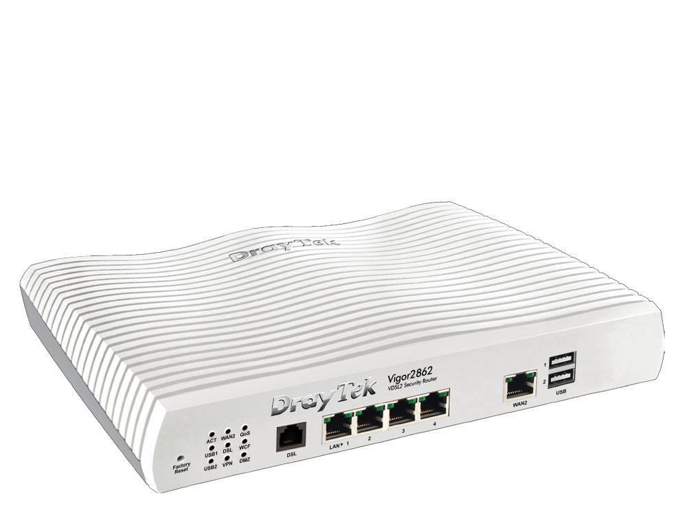 DrayTek Vigor 2862 ac Annex A 802.11AC Wave 2 wireless LAN