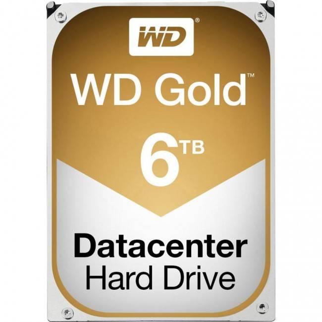 Western Digital WD 6TB Gold SATAIII 128 MB 7200RPM (WD6002FRYZ)