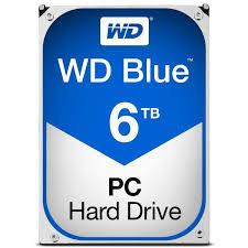 Western Digital WD 6TB SATA III 64MB Desktop Blue (WD60EZRZ)