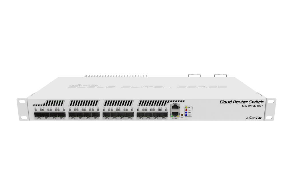 MikroTik Cloud Router Switch 317-1G-16S+ with RouterOS L6