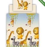 Beddengoed incl. hoeslaken - opdruk safari