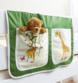 Bedtas voor (half)hoogslapers en stapelbedden - Safari