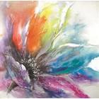 Schilderij Flower power 60x60cm